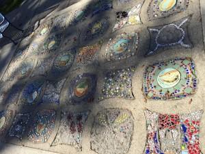 Taylor Park Sidewalk Art