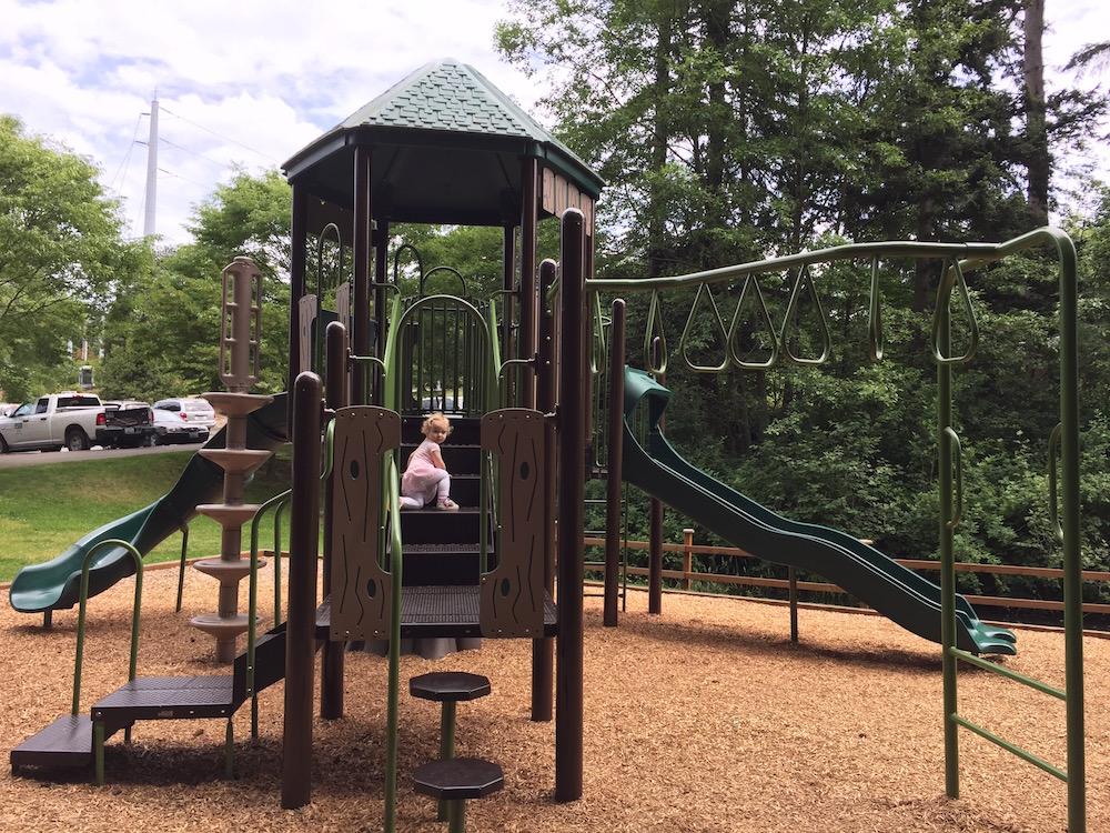 92nd Street Park Mukilteo - big kid playground