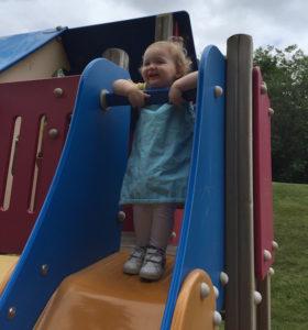 92nd Street park Mukilteo - toddler slide
